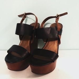 Brand New Black Wedges